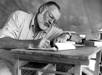 Ernest Hemingway. Foto de Archivo, La República.