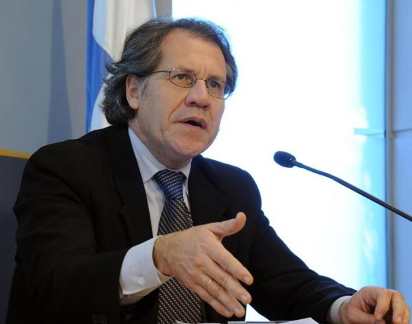 Luis Almagro, Secretario General de la OEA. Foto de Archivo, La República.