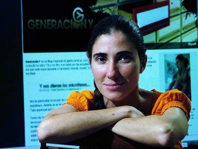 Yoani Sánchez, Cuba.