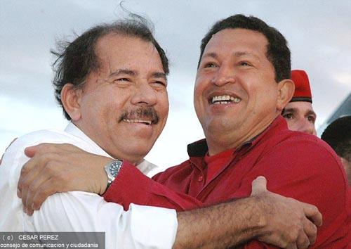Chávez-y-Daniel-Ortega
