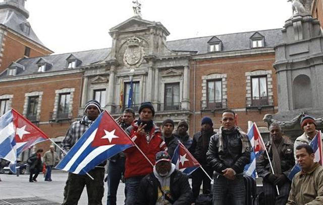 Disidentes cubanos. Foto de Archivo, La República.
