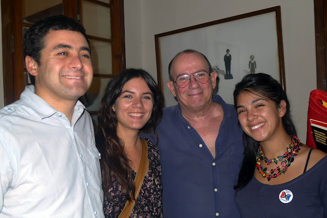 Tres chilenos