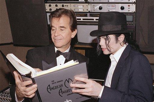 Michael Jackson, Dick Clark,