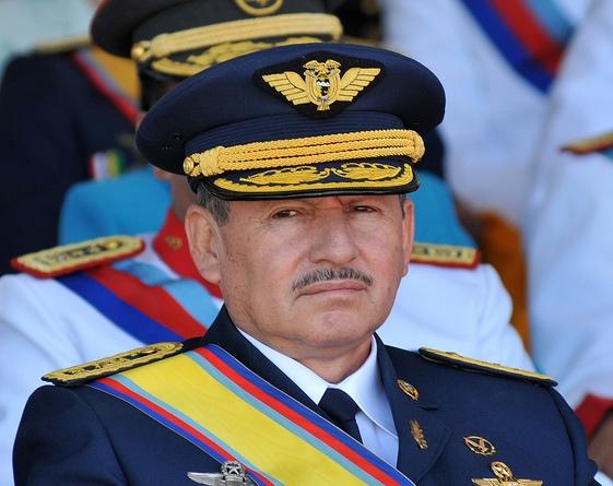 Quito, 22 abril 2010. Leonardo Barreiro, comandante General de la FAE. (Miguel Romero/Presidencia de la República)