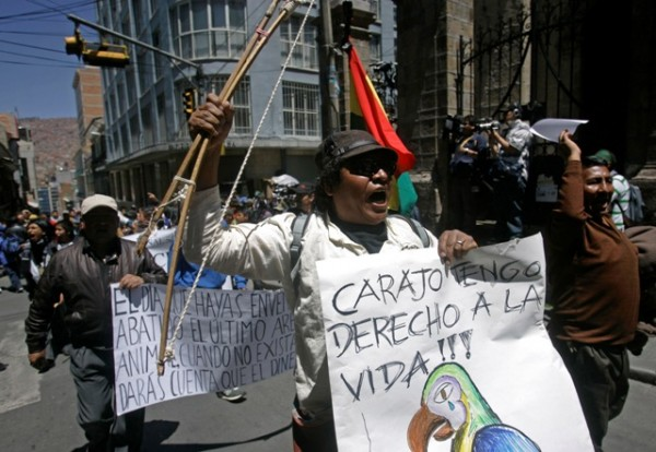 BOLIVIA-MORALES PROTESTAS