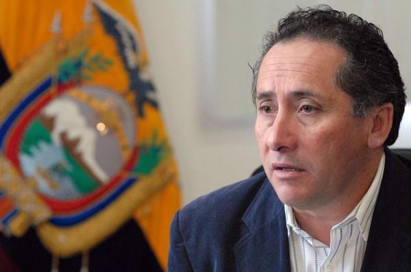 MIGUEL CARVAJAL, MINISTRO DE SEGURIDAD INTERNA Y EXTERNA