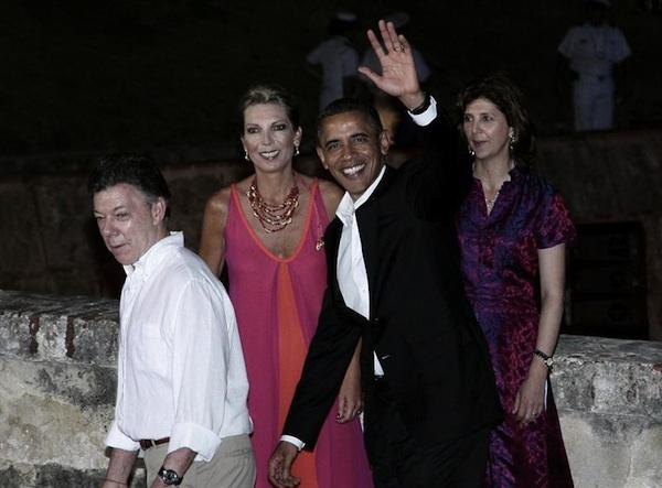 obama en cartagena
