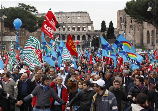 ITALIA-CRISIS FINANCIERA