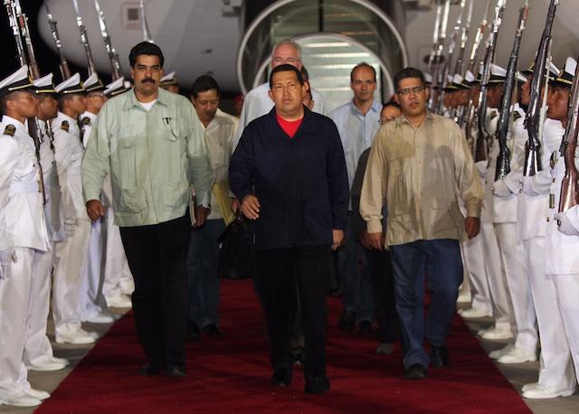 Hugo Chavez, Nicolas Maduro, Elias Jaua