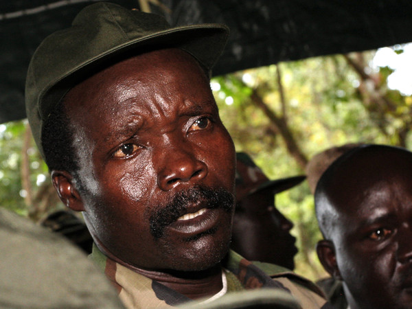 Joseph Kony leader of the Lord's Resistance Army