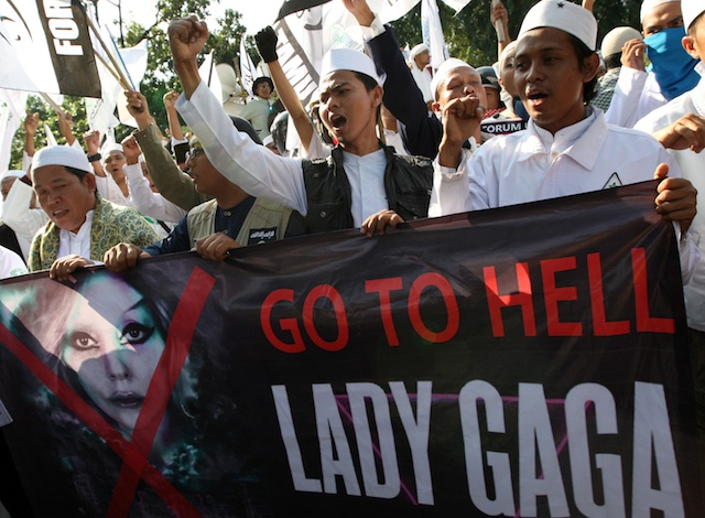 INDONESIA-LADY GAGA