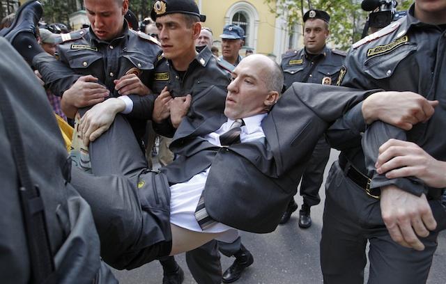 RUSIA-GAYS-PROTESTAS