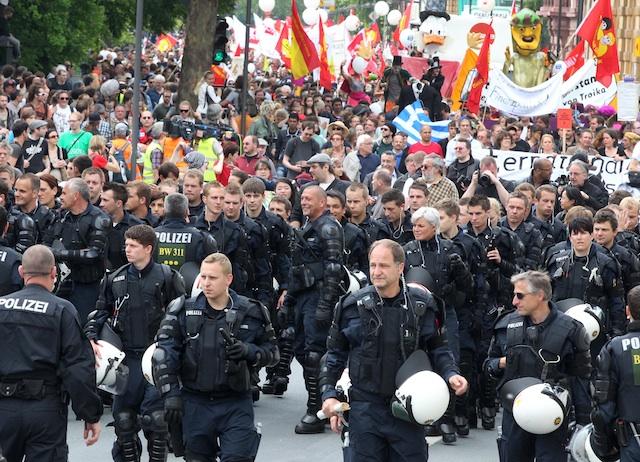 ALEMANIA-PROTESTAS