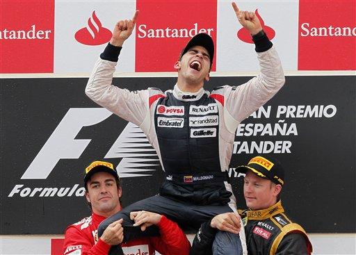 Fernando Alonso, Pastor Maldonado, Kimi Raikkonen