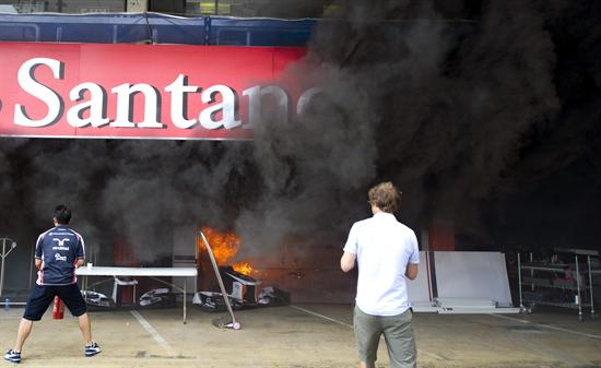 Williams incendio