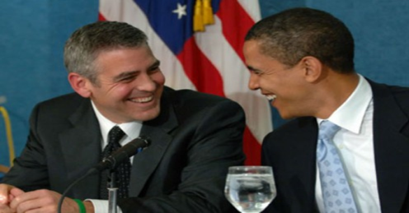 clooney-obama rien