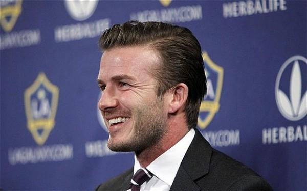 Foto de archivo. David Beckham. Foto AP.