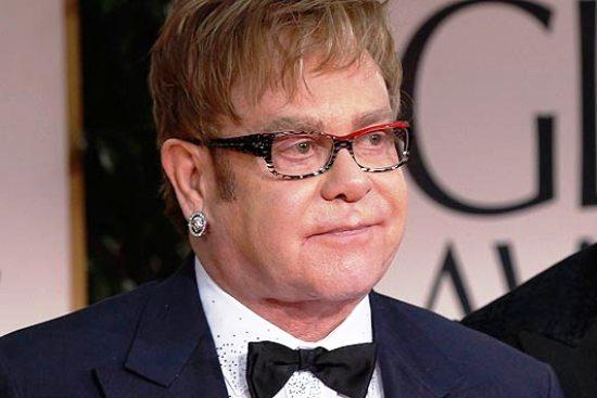 Elton John. Foto de Archivo, La República.
