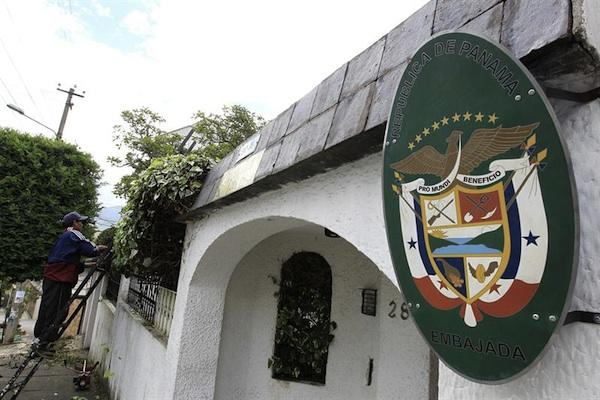 embajada panamá