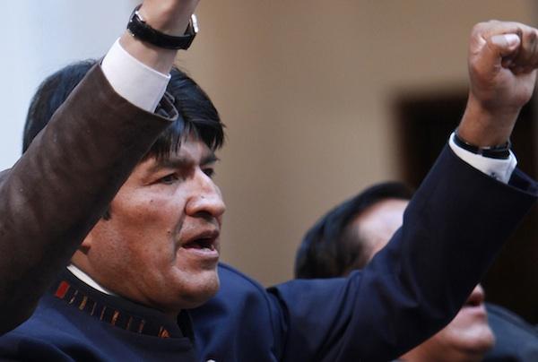 BOLIVIA-NACIONALIZACION
