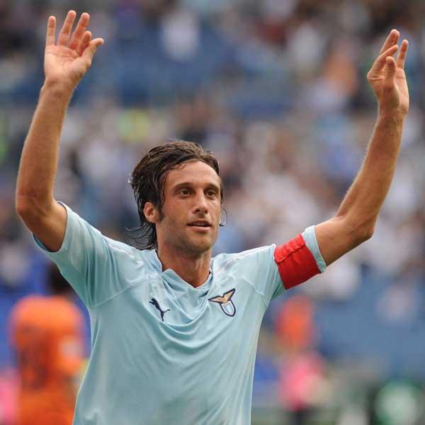 Stefano Mauri, capitán de Lazio.