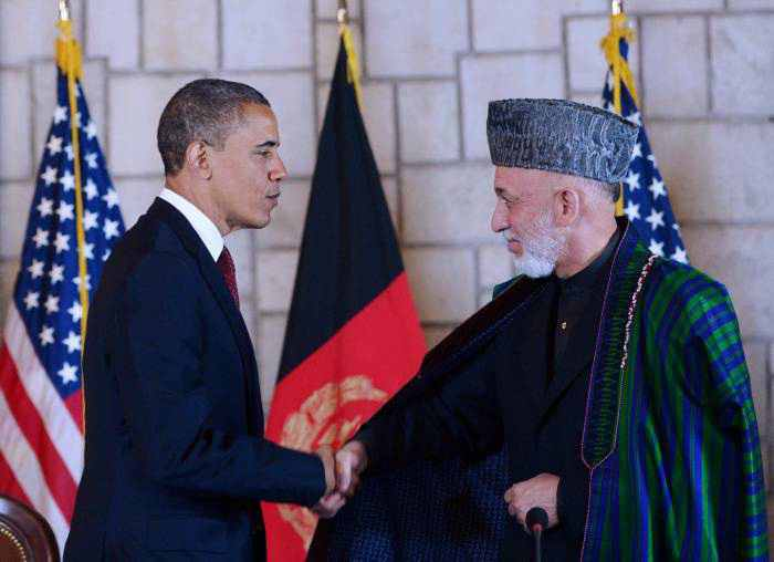 AFGHANISTAN-US-POLITICS-OBAMA-KARZAI