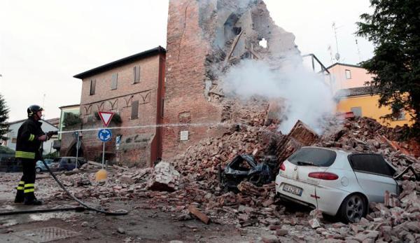 terremoto en milan