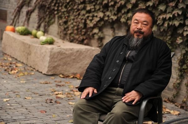Ai Weiwei, artista chino de disidencia. Foto de Archivo, La República.