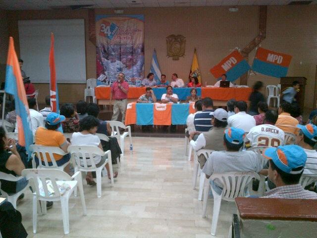 Convencion MPD