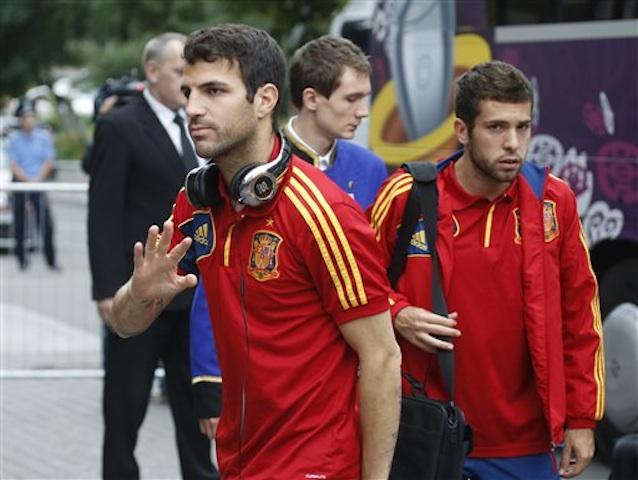 Cesc Fabregas, Jordi Alba