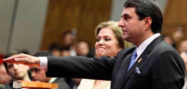 Federico Franco juramento