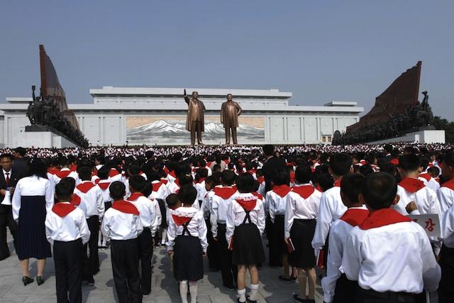 Corea del Norte, (Foto AP/Jon Chol Jin)