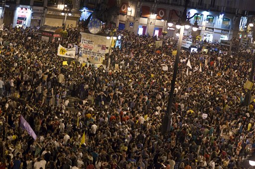 ESPAÑA-PROTESTAS