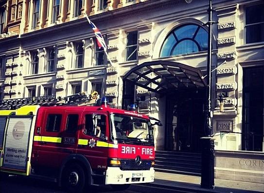 incendio hotel londres