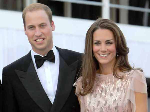 File photo dated 09/06/11 of the Duke and Duchess of Cambridge arrive at the 10th annual ARK (Absolute Return for Kids) Gala Dinner, at Kensington Palace, in Kensington, London. PRESS ASSOCIATION Photo. Issue date: Wednesday June 20, 2012. Prince William was born at St Mary's Hospital, London on June 21, 1982. He will celebrate his 30th birthday this week. See PA story ROYAL William. Photo credit should read: Dominic Lipinski/PA Wire
