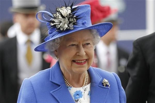 Reina Isabel II de Inglaterra. Foto de Archivo, La República.