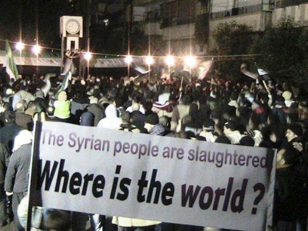 siria donde esta el mundo