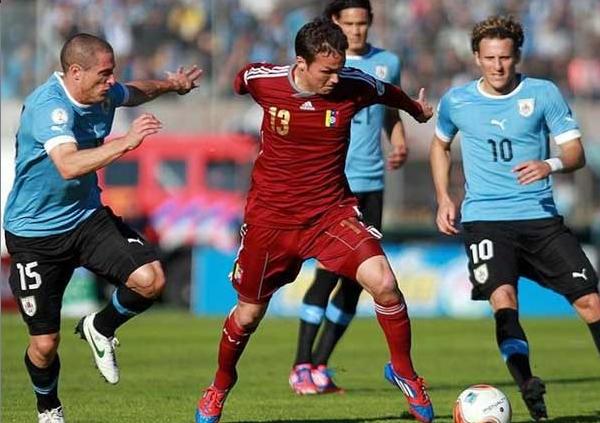 venezuela 1-1 uruguay