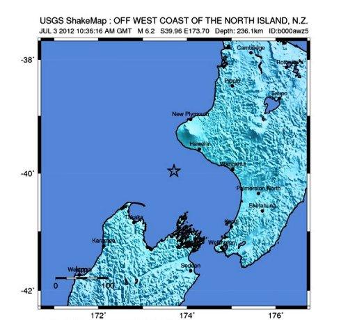 Nueva Zelanda sismo
