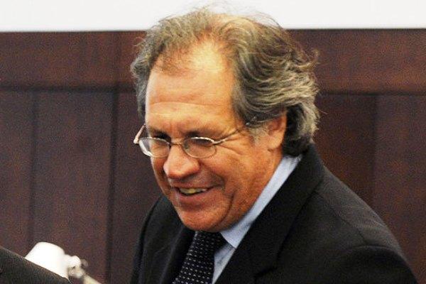 Luis Almagro. Foto: Archivo