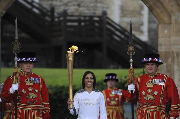 antorcha olímpica Londres