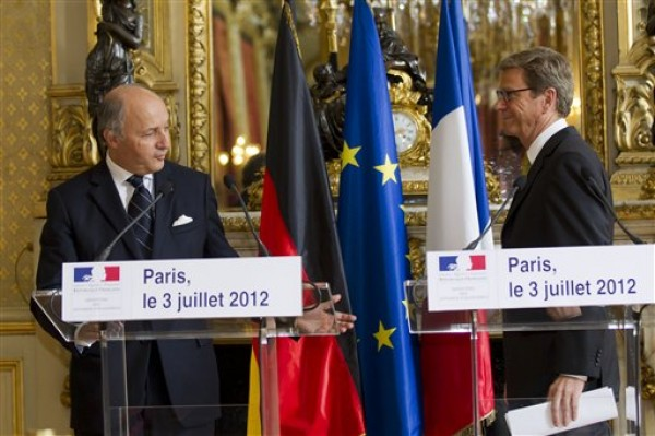 Laurent Fabius, Guido Westerwelle