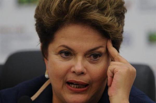 Dilma Rousseff, presidenta del Brasil. Foto de Archivo, La República.
