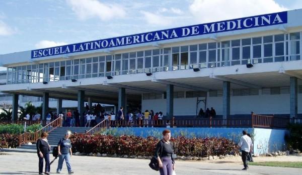 Escuela Latinoamericana de Medicina en Cuba. Foto de Archivo, La República.