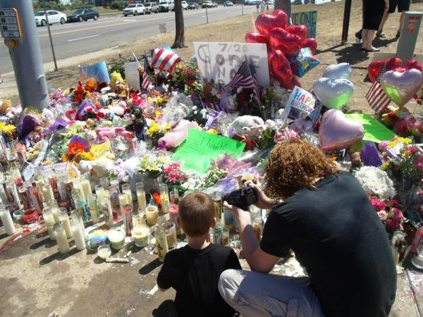 homenaje victimas Colorado