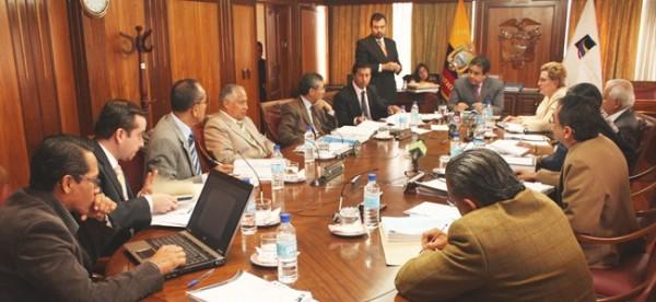 Jueces de la Corte Constitucional. Foto de Archivo, La República.