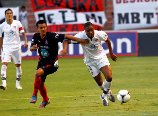 QUITO 21 DE JULIO DE 2012, En el estadio Casa Blanca Liga recibe al Olmedo APIFOTO/JAVIER CAZAR