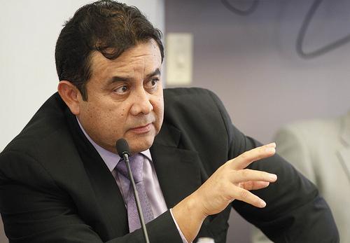 Patricio Pazmiño, presidente de la Corte Constitucional. Foto de Archivo, La República.