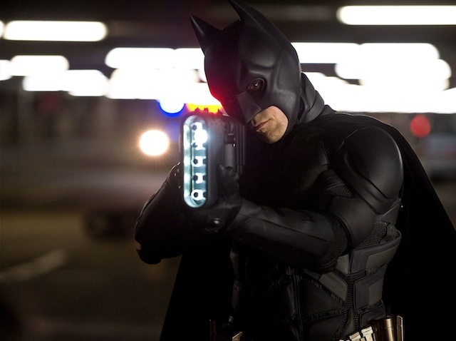 Christian Bale, como Batman.