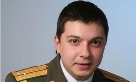 Belarusian dissident Aliaksandr Barankov